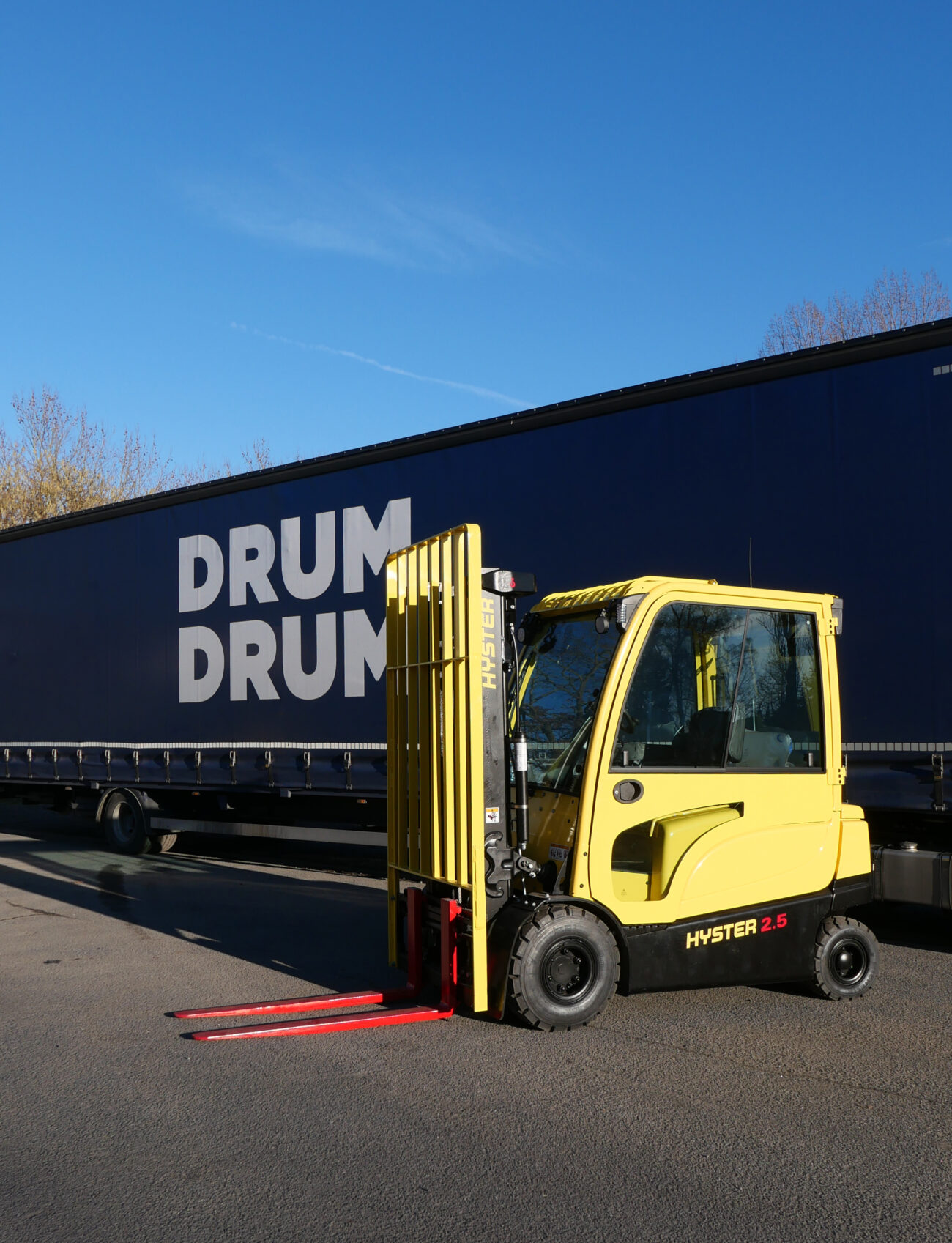 Sustainable forklifts